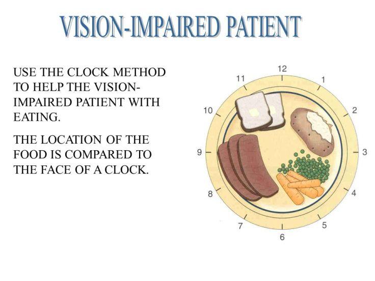VISION-IMPAIRED+PATIENT